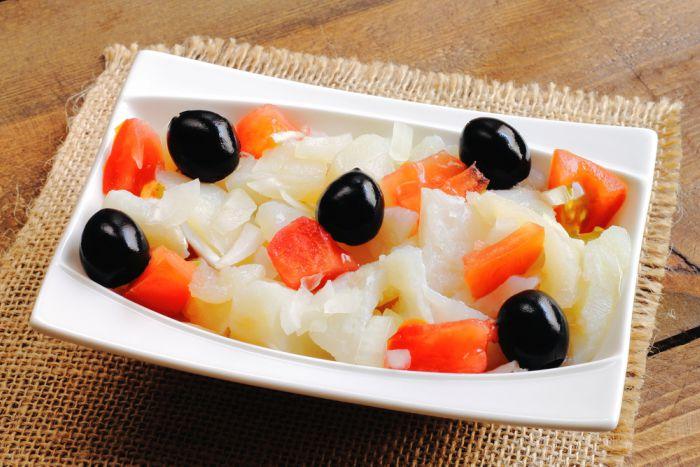 Ensalada catalana o exqueisada -Cenas ligeras y fáciles de preparar