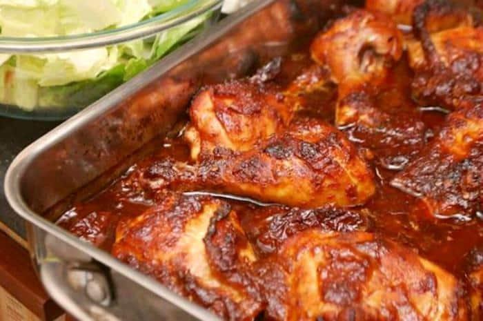 Pollo al vino -Menú para el Día del Padre