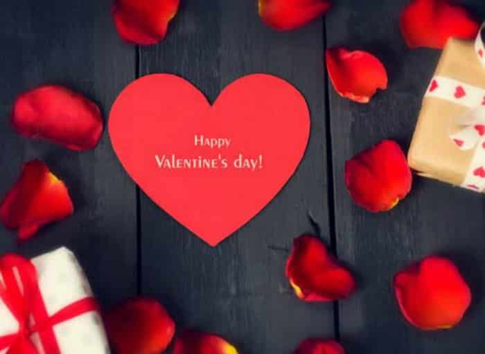Menú de San Valentín