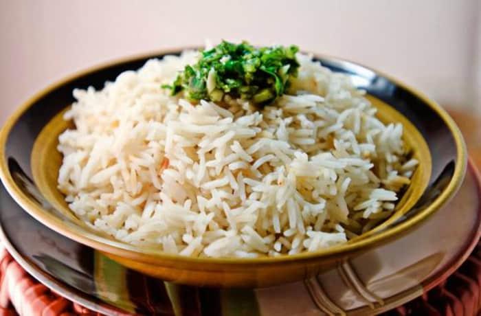Cómo cocinar el arroz basmati