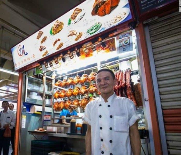 Hawker Chan singapur estrella michelin
