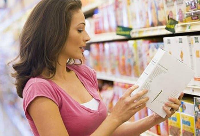 leer etiquetas -Menú para diabéticos