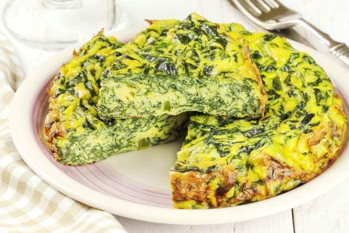 Receta de tortilla de acelgas al estilo casero rica en for Ideas para comidas caseras