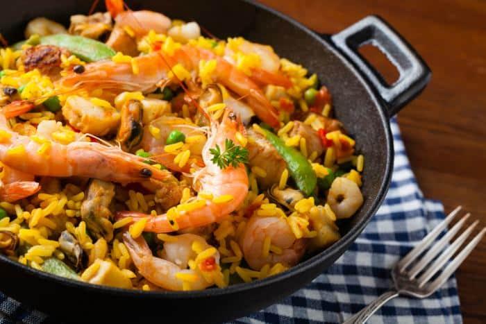 arroz de mariscos