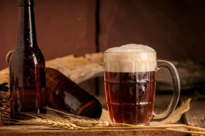 beber cerveza casera