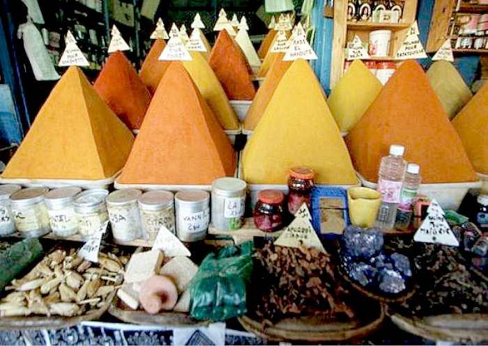 Puesto de especias árabe -Arroz árabe