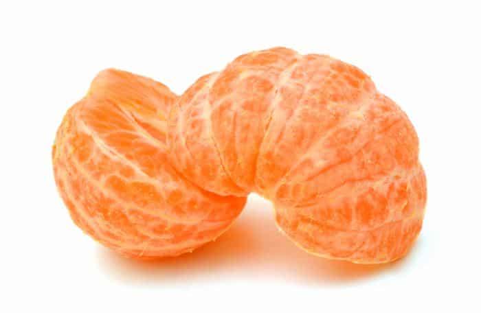 mandarina pelada