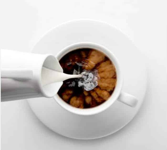 café con leche - Menú para diabéticos
