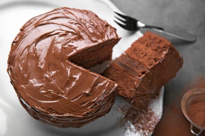 Torta de chocolate esponjosa -Menú para el Día del Padre