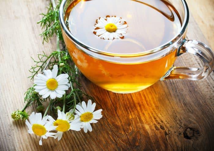 moler flores de manzanilla