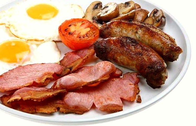Desayuno inglés o English breakfast