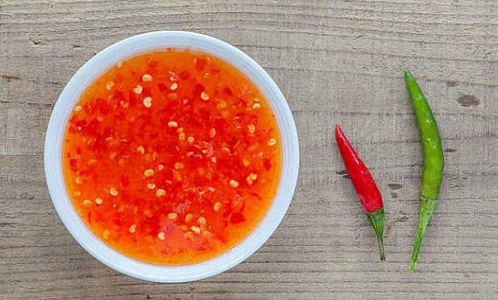 Salsa de chili dulce
