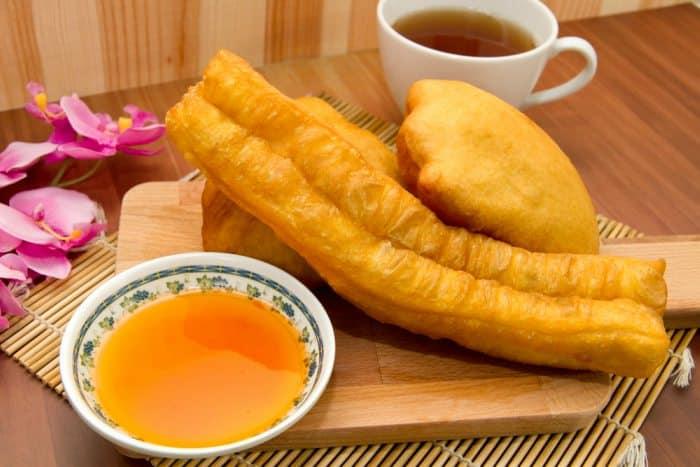 Youtiao, los 'churros chinos'