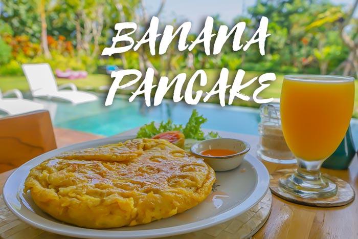 Tortitas de Pátano o Banana Pancakes