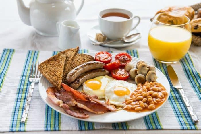 Desayuno ingl s c mo hacerlo en casa - Desayunos en casa ...