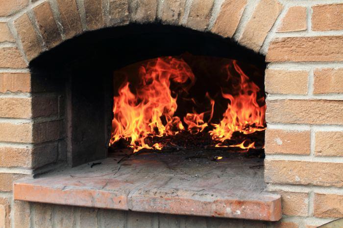 horno abierto-Pescado al horno