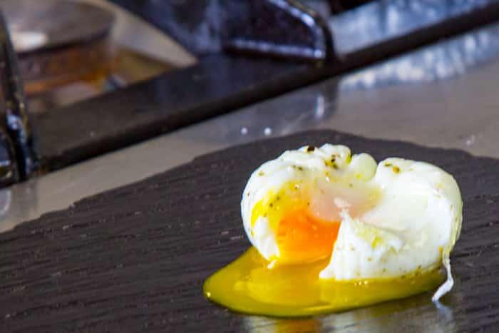 Huevos Escalfados. Receta auténtica