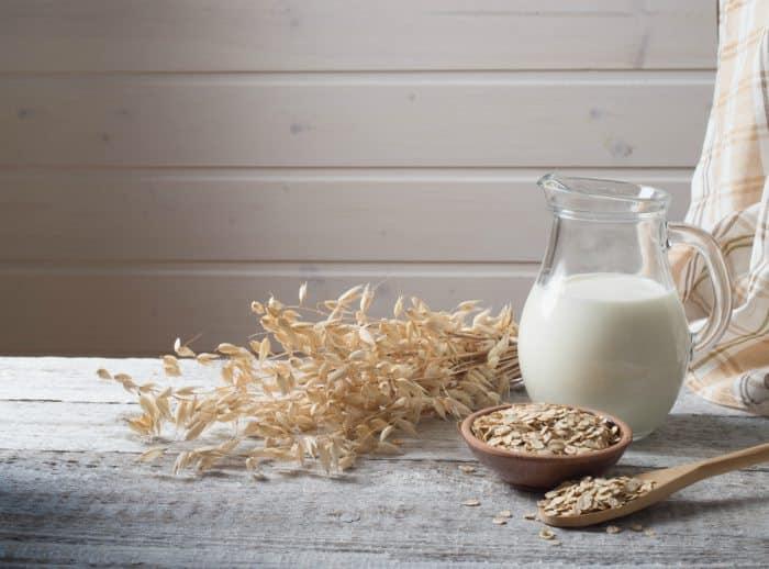 leche de avena casera
