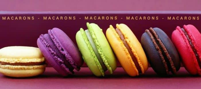 Historia de los macarons