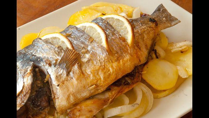 pescado al horno