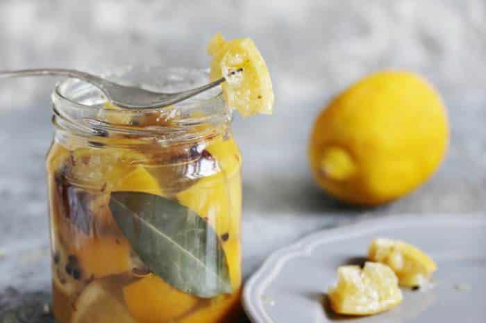 limones encurtidos -Platos típicos de Marruecos