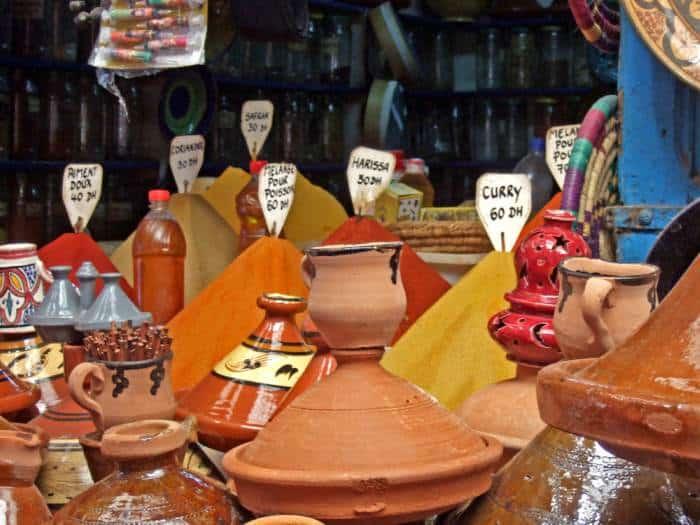 especias en Marruecos -Platos típicos de Marruecos