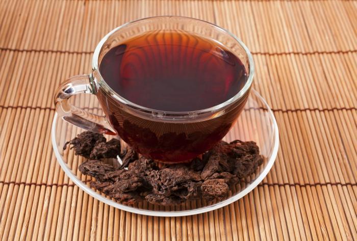 propiedades del té rojo o Pu-erh