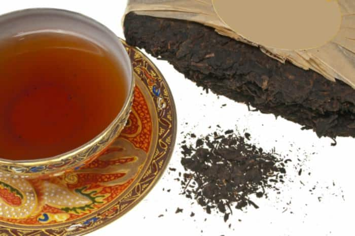 té rojo - pu-erh