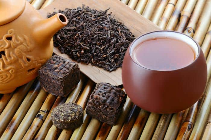 7 propiedades del té rojo o Pu-erh