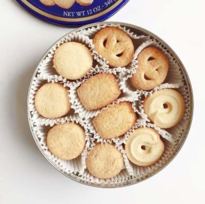 Galletas de mantequilla danesas - galletas de mantequilla fáciles y rápidas. Decoradas