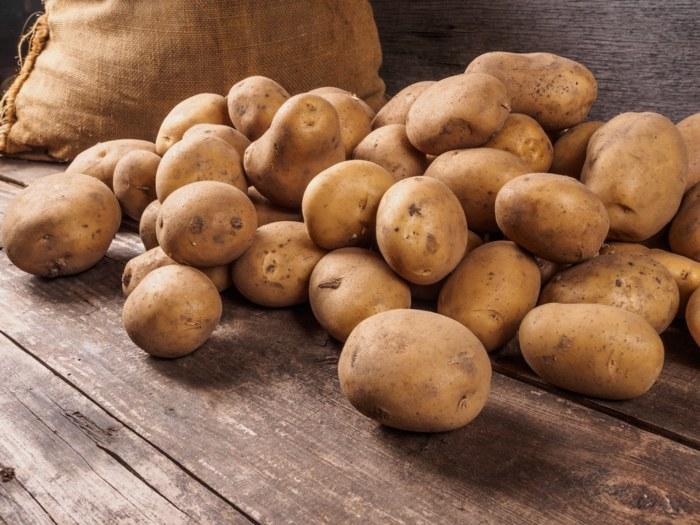 Patatas -Puré de patatas sin leche