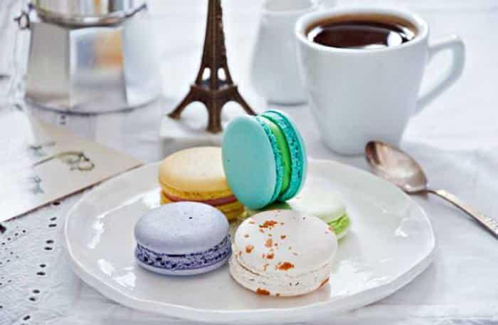 Los macarons en París