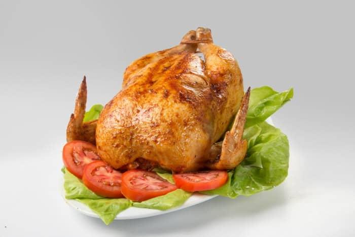 Pollo a las brasas estilo Lima