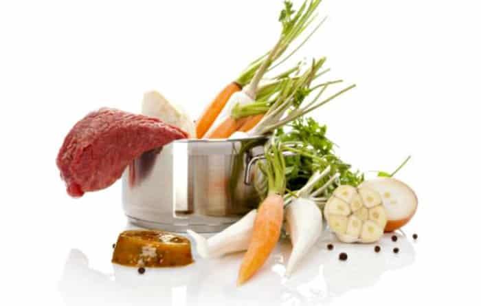 ingredientes de caldo concentrado