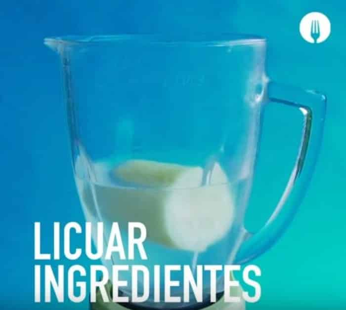 licuar ingredientes de limonada
