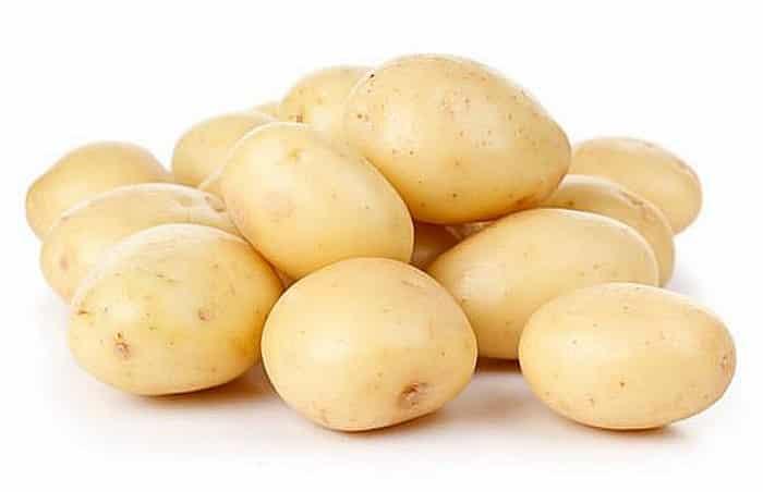 Patatas en plato