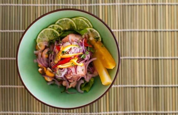 comida platos tipicos de ecuador- ceviche