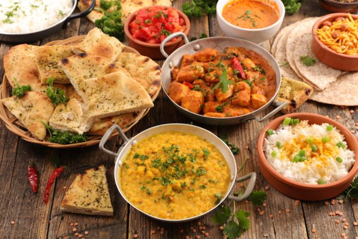 Platos típicos de la India