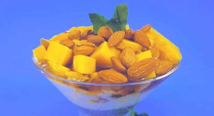 Postre de Mango y Chía