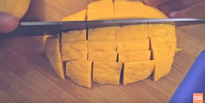 cortar mango
