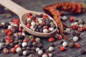 Tipos de pimientas