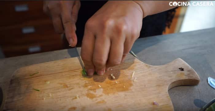 cortar hojas de lima