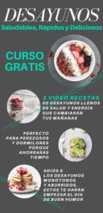 curso desayunos gratis