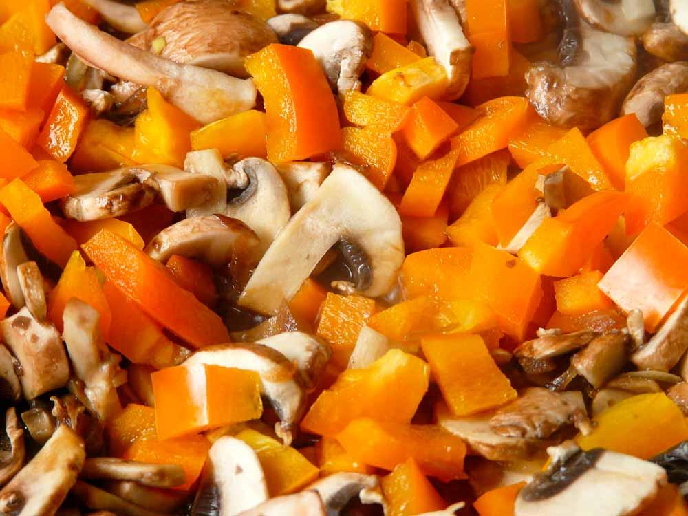 Ceviche de hongos