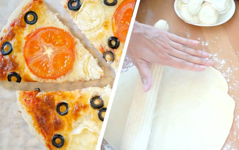 Masa para Pizza con cooking chef