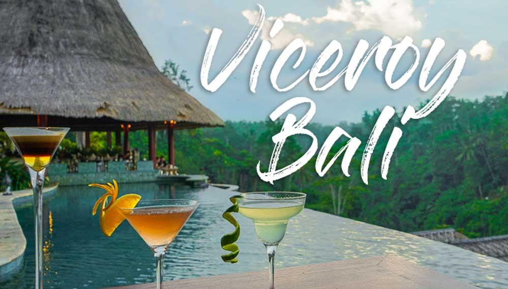 Viceroy Bali: 3 Cócteles en el paraíso