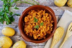 Patatas Revolconas con Cooking Chef de Kenwood