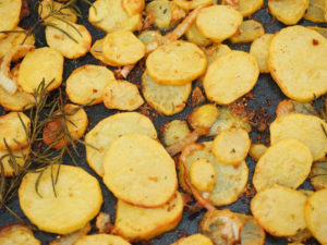 Patatas a lo pobre. Receta de Almería