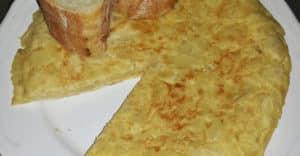 Tortilla del Sacromonte. Receta de Granada