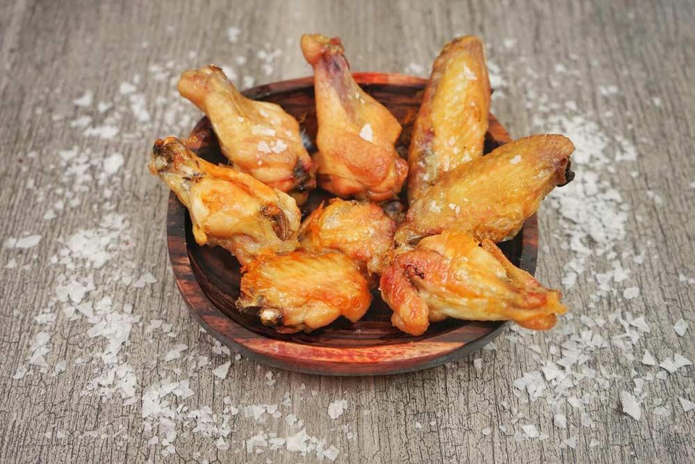 Alitas de pollo al Horno (sin freir y sin aceite)